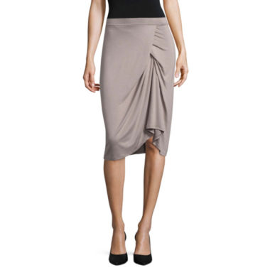 Worthington Edition Asymmetrical Skirt