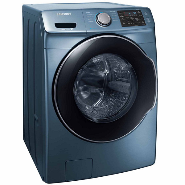 Samsung  4.5-cu ft High-Efficiency Stackable Front-Load Washer with Steam Wash
