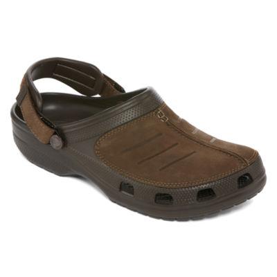 Crocs Mens Yukon Clogs Slip-on Round Toe