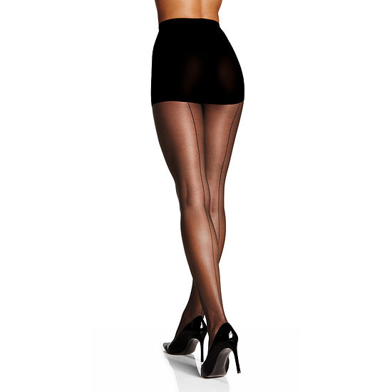 Berkshire Hosiery Sheer Backseam Pantyhose-Plus