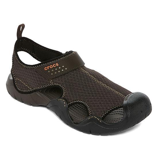 Crocs Mens Swiftwater Strap Sandals