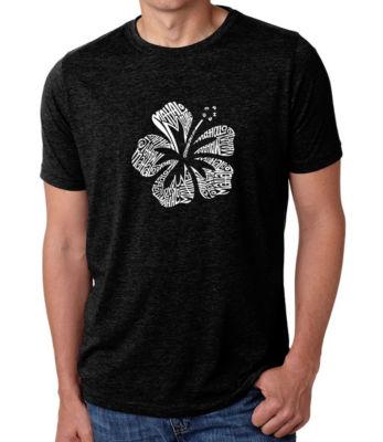 Los Angeles Pop Art Men's Premium Blend Word Art T-shirt - Mahalo