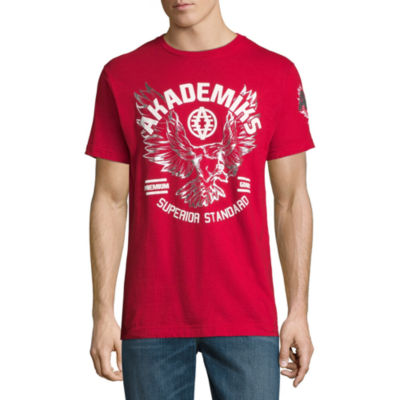 Akademiks Short Sleeve Crew Neck T-Shirt