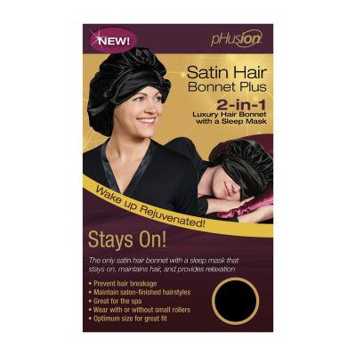 Phusion Luxury Hair Bonnet Plus Black Gm Hair Wrap