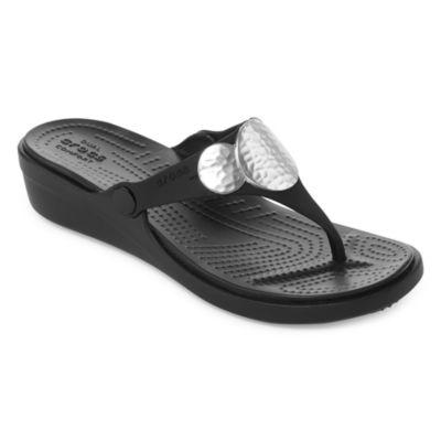 Crocs Sanrah Womens Flip-Flops