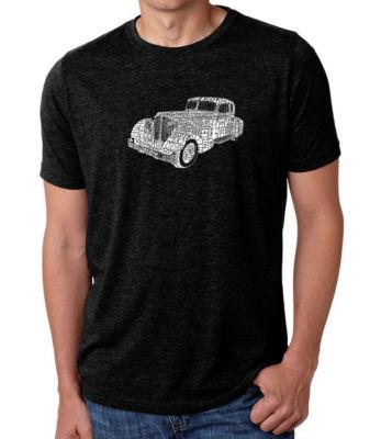 Los Angeles Pop Art Men's Big & Tall Premium Blend Word Art T-shirt - Mobsters
