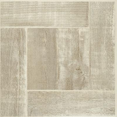 Tivoli Saddlewood 12X12 Self Adhesive Vinyl Floor Tile - 45 Tiles/45 Sq. Ft.
