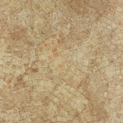 Tivoli Ancient Beige Mosaic 12X12 Self Adhesive Vinyl Floor Tile - 45 Tiles/45 Sq. Ft.