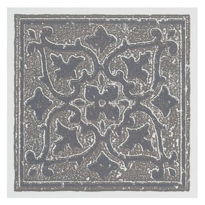 Nexus Accent Gray 4X4 Self Adhesive Vinyl Wall Tile - 27 Tiles/3 Sq Ft.