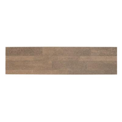 Bolder Stone™ 6In X 24In Self Adhesive Stone Wall Tile - Mocha - 6 Tiles/6 Sq Ft.