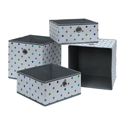 Neu Home Foldable Storage Drawer /Tray 4-Pc