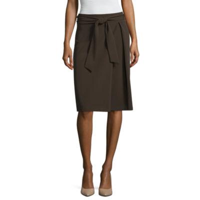 Worthington Womens A-Line Skirt