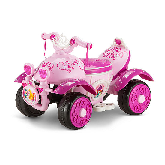 Kid Trax Disney Princess Deluxe 6 Volt Toddler Quad Electric Ride-on