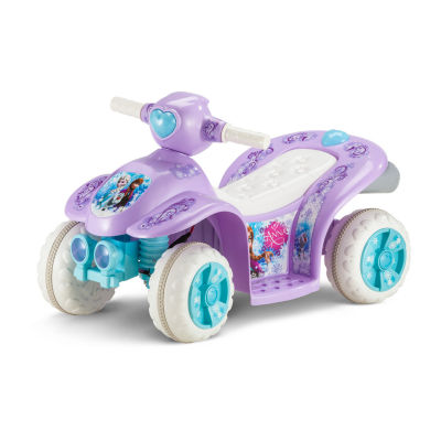 Kid Trax Disney Frozen 6 Volt Toddler Quad Electric Ride-on