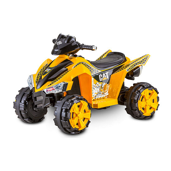 Kid Trax Cat Power Atv 6 Volt Quad Electric Ride On
