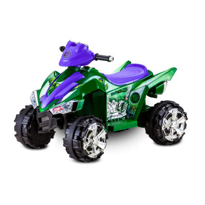 Kid Trax Marvel Hulk ATV 6 Volt Quad Electric Ride-on