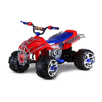 Kid Trax Marvel Spider-Man 12Volt ATV Quad Electric Ride-on
