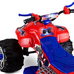 Kid Trax Marvel Spiderman 12volt Atv Quad Electric Ride-On