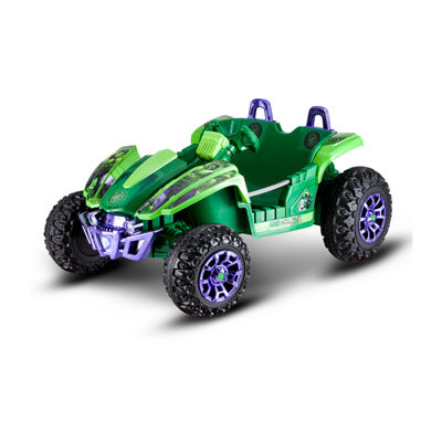 Kid Trax Marvel The Incredible Hulk Dune Buggy 12Volt Electric Ride-on