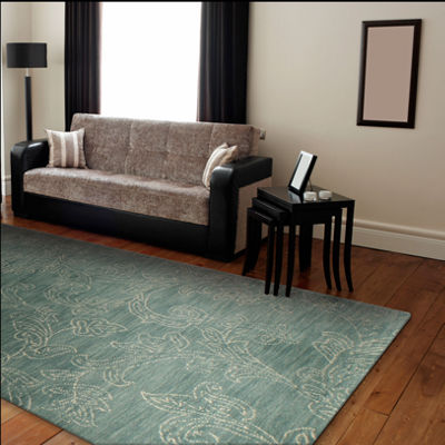 Roseberry 100% Wool Hand Tufted Area Rug
