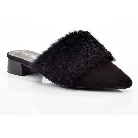 Henry Ferrera Womens Spain/Black Slide Sandals