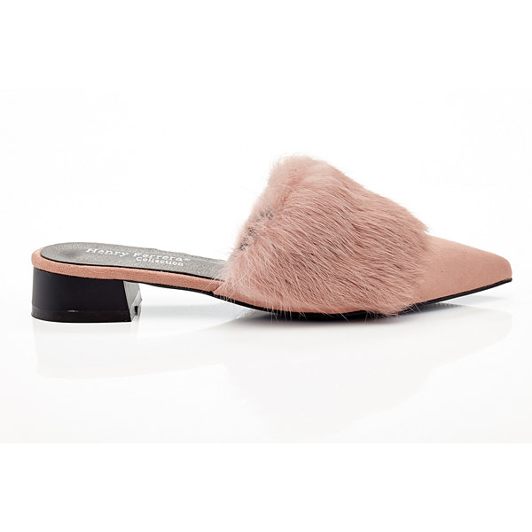 Henry Ferrera Spain/Pink Womens Slide Sandals