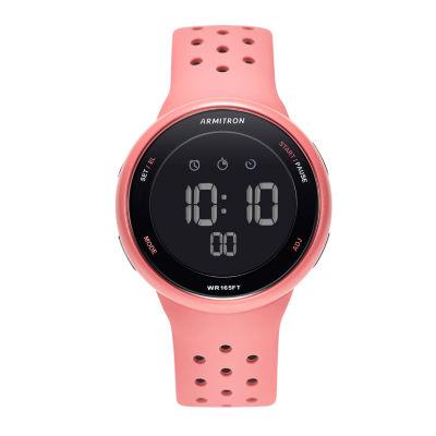 Armitron Armitron Prosport Unisex Pink Strap Watch-40/8423pnk