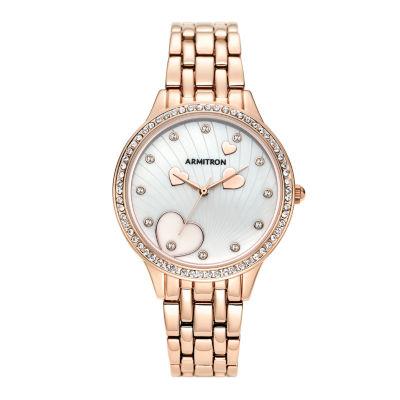 Armitron Womens Rose Goldtone Bracelet Watch-75/5571mprg