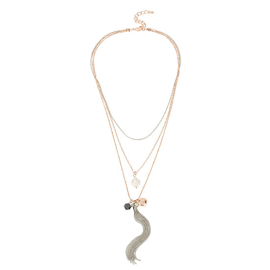Nicole By Nicole Miller Womens Pendant Necklace