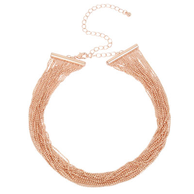 Nicole By Nicole Miller Womens Collar Necklace