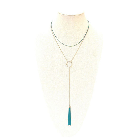 a.n.a 15 Inch Curb Y Necklace