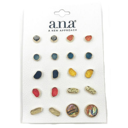 A.n.a 10 Pair Earring Sets ylGcFRa