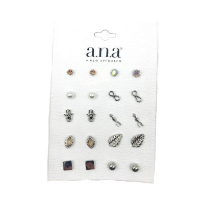 a.n.a 10 Pair Earring Set