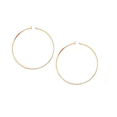 a.n.a 2 1/2 Inch Hoop Earrings