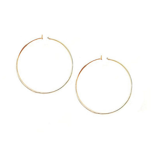 a.n.a 1 Pair Hoop Earrings