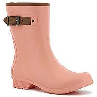 9b8999497df9 Chooka Fashion Womens City Solid Rain Boots Waterproof Pull-on
