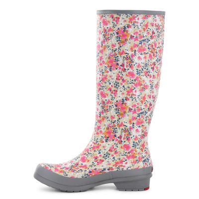 Chooka Fashion Womens Julia Rain Boots Waterproof Pull-on