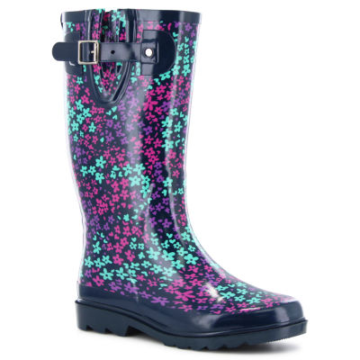 Western Chief Camoflorage Womens Waterproof Rain Boots Wide