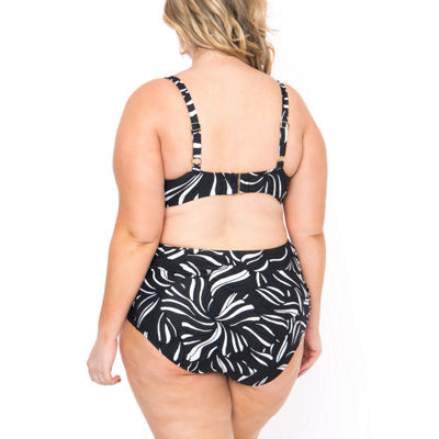 Boutique + Bralette Swimsuit Top-Plus