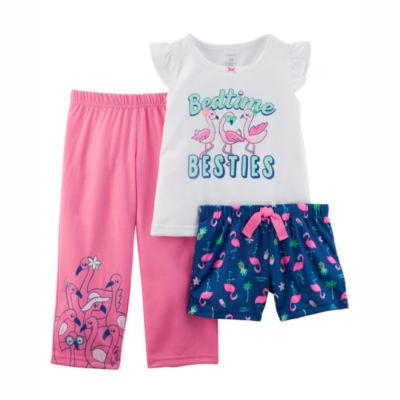 Carter's 3 Piece Pajama Set - Preschool Girls