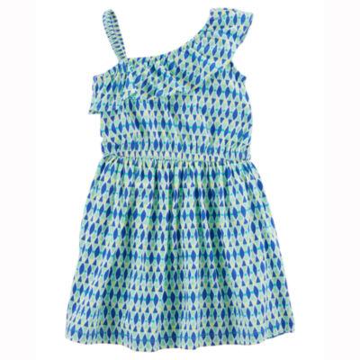 Carter's Sleeveless Floral A-Line Dress - Preschool Girls