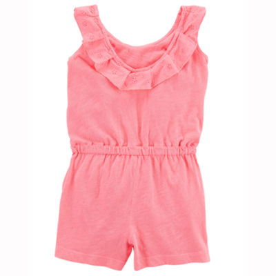 Carter's Sleeveless Romper - Toddler Girls