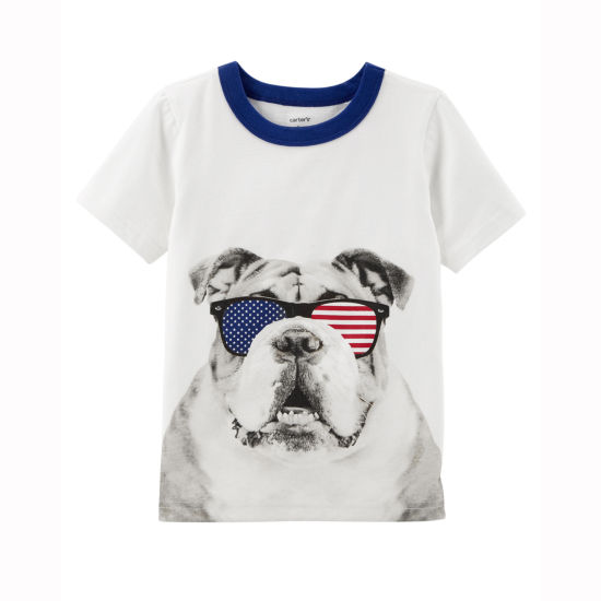 Carter's 4th Of July Graphic T-Shirt-Preschool Boys