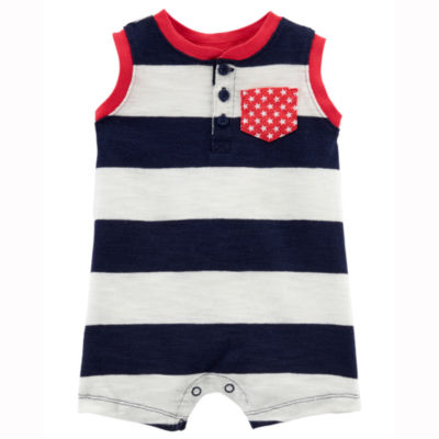 Carter's 4th Of July Sleeveless Romper - Baby
