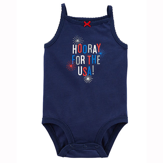 Carter's 4th Of July Bodysuit-Baby Girls