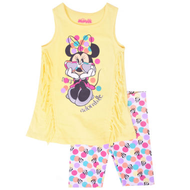 Disney 2-pc. Minnie Mouse Short Set Toddler Girls