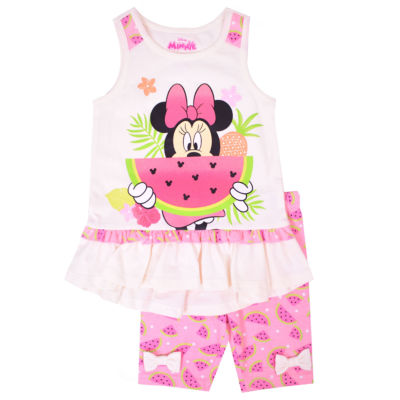 Disney 2-piece Minnie Mouse Legging Set-Toddler Girls 2t-5t