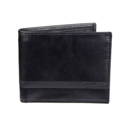 Stafford Extra Capacity Slimfold Wallet with Zipper