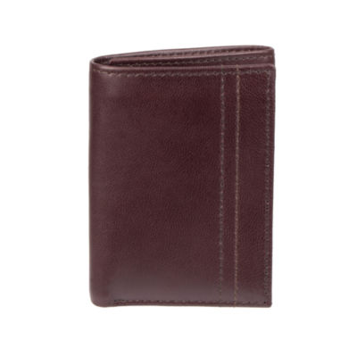 Stafford Mens RFID Trifold Wallet with Zipper