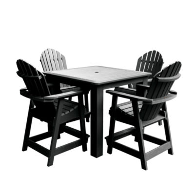 Highwood® Hamilton 5-pc. Square Counter Dining Set
